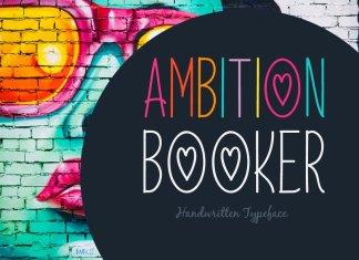 Ambition Booker Typeface