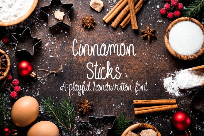 Cinnamon Sticks Font