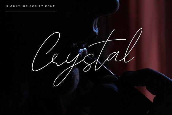 Crystal Font