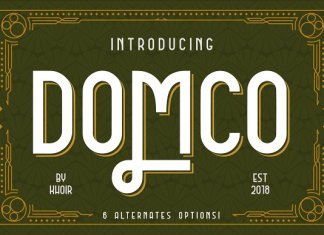 DOMCO Font