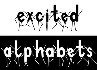 Excited Alphabets