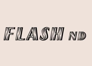 Flash ND Font