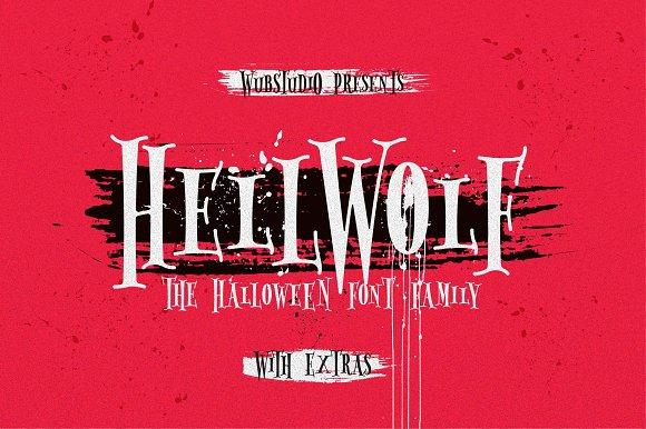 Hellwolf Typeface