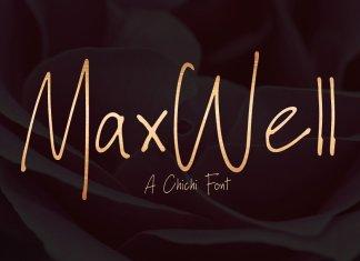 Maxwell Handwritten Font