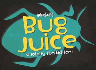New! Bug Juice Font