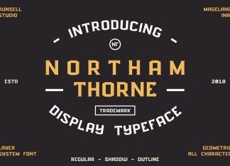 NORTHAM THORNE FONT