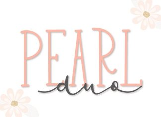 Pearl Duo - Script & Print