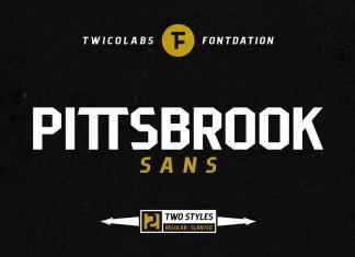 Pittsbrook Sans Font