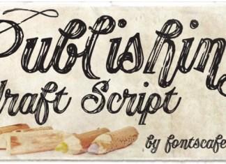 Publishing Script Font Family