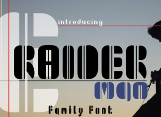 Raiderman Font