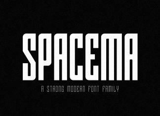 Spacema Font Family