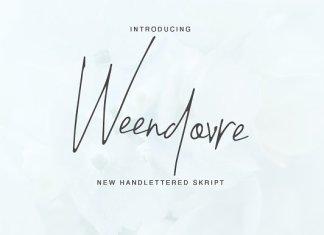 Weendovre Font