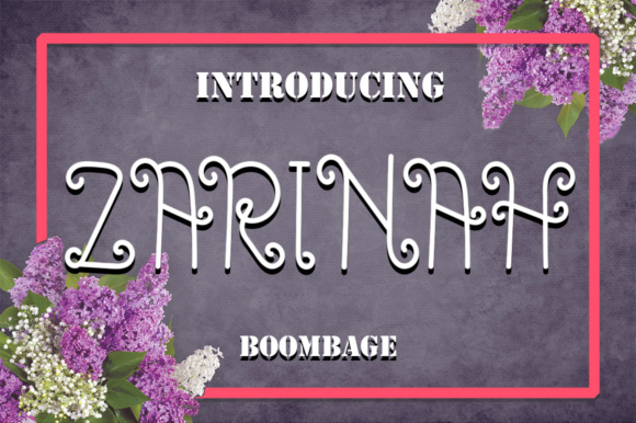 Zarinah Script Font