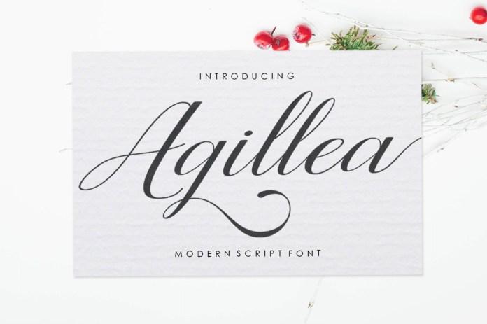 Agillea Script Font