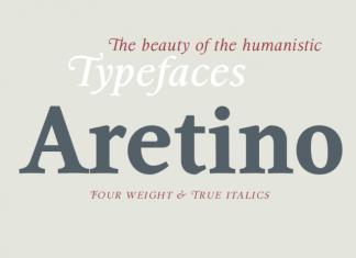 Aretino Font Family