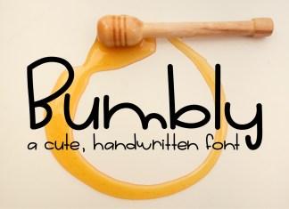 Bumbly Regular Font