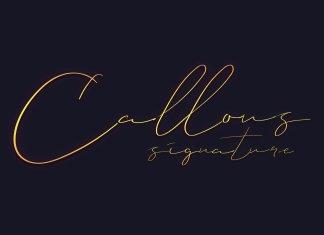 Callous Font