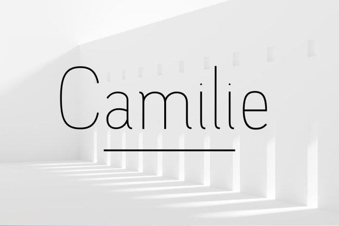 Camilie - Sans Serif Font