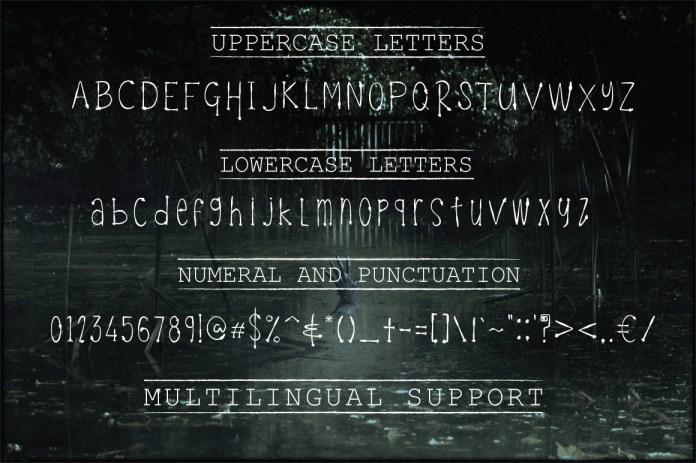 Celeste - Funky TypefaceRegular Font