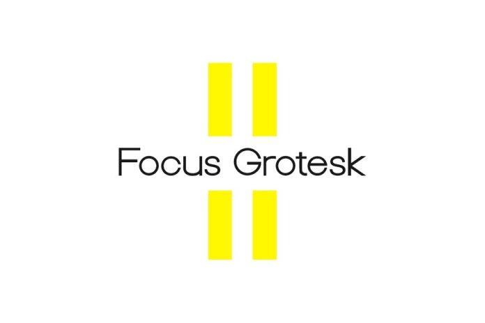 Focus Grotesk - Geometric Typeface