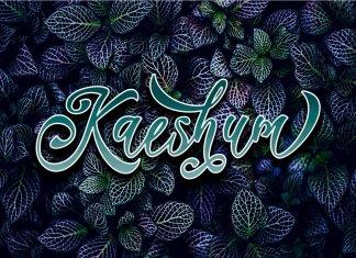 Kaeshum Script Font