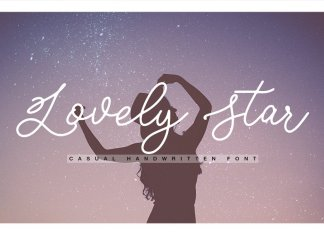 Lovely Star Font