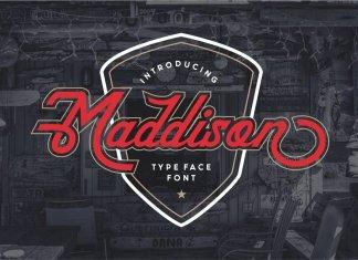 Maddison Typeface//Bonus Bagdes