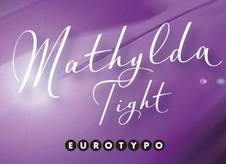 Mathylda Tight Font