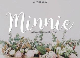 Minnie | Script Font