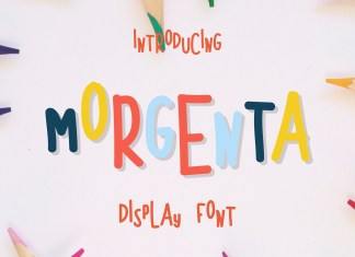 Morgenta Display Font