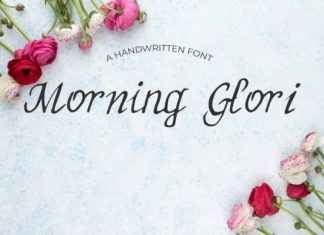 Morning Glori Font
