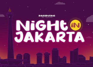 Night in JakartaOther Font