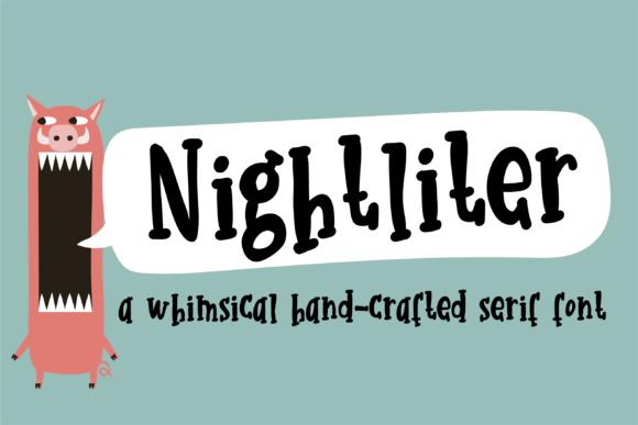 Nightliter Font