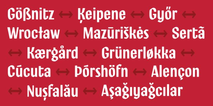 Ostbahnhof Font Family
