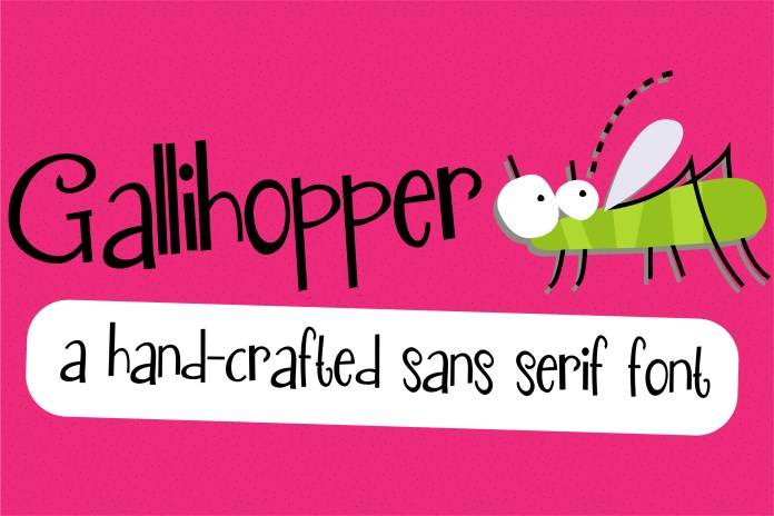 PN Gallihopper Regular Font