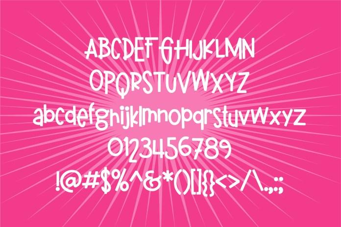 PN Gladstick Thick Regular Font