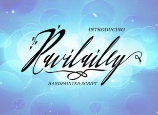 Ravilailey Font