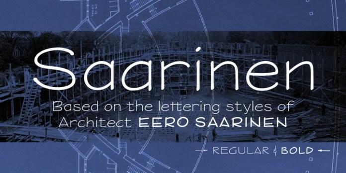 Saarinen Font Family