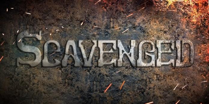 Scavenged Script Font