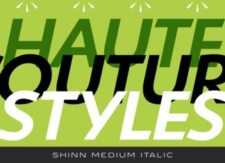 Shinn Font Family
