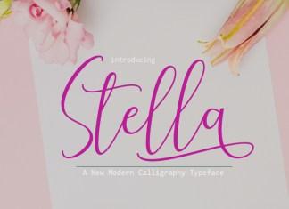 StellaScript Font