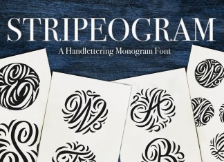 Stripeogram Other Font