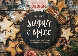 Sugar Spice Font