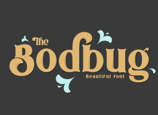 The Bodbug Typeface