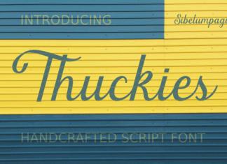 Thuckies Font