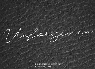 Unforgiven Font
