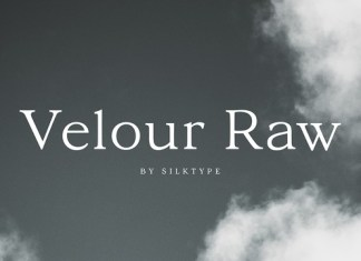Velour Raw Font Family