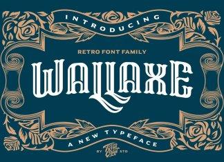 Wall Axe Font