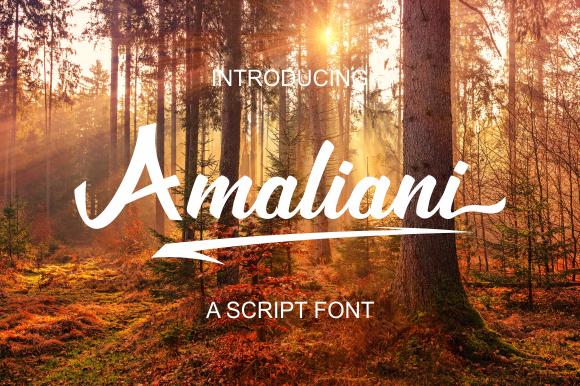 Amaliani Font