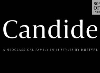 Candide Font Family